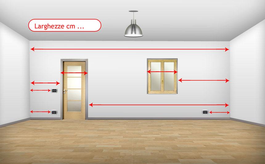 Rilievo misure progettazione interni modena for Progettazioni interni