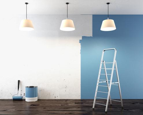 ristrutturazione interni modena tinteggiatura
