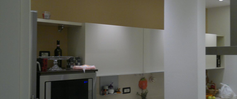 Foto del risultato finale della nuova cucina del cliente