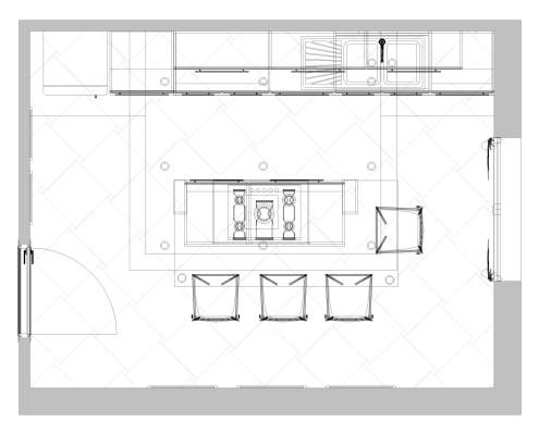 Rinnovare la cucina: la pianta del nuovo progetto